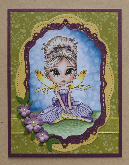 "HeatherM using Lacy Sunshine ""Sugar Plum Fairy Enchantress"" digi."