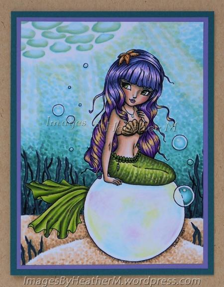 "HeatherM using JadeDragonne ""Bubbles"" digi."